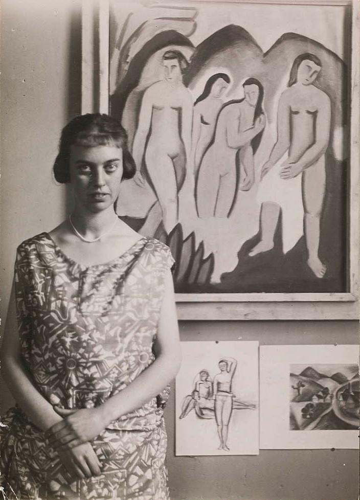 Abb. 2 Foto: Willi Baumeister, Margarete Oehm, 1923