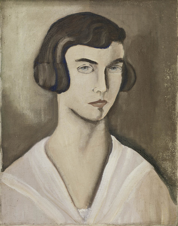Abb. 10 ohne Titel – Selbstporträt Margarete Oehm (MO-189)